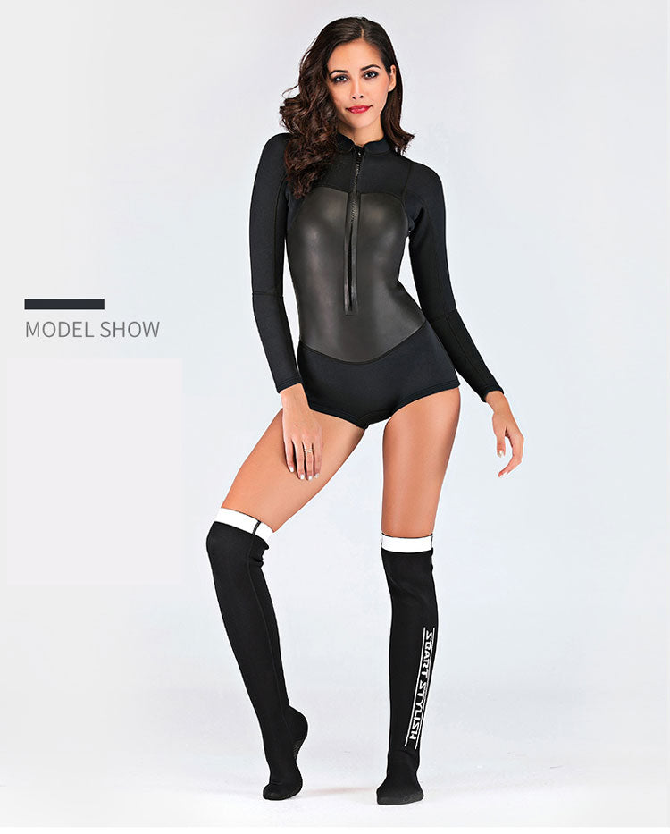 fashionable wet suit