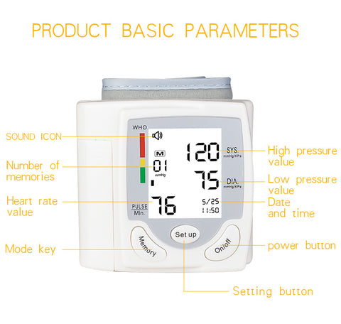 Blood Pressure Monitor Amicooltoy