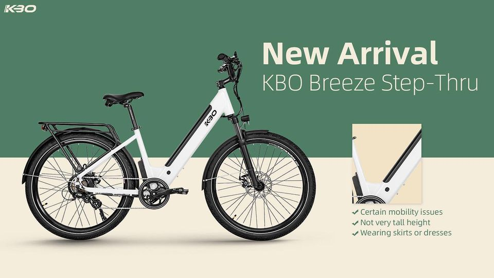 kbo breeze step thru is launched now