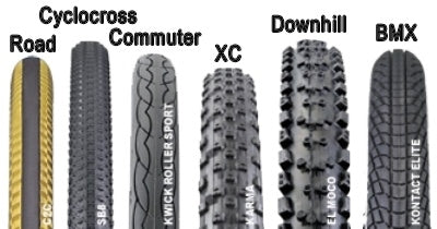 types of ebike tires