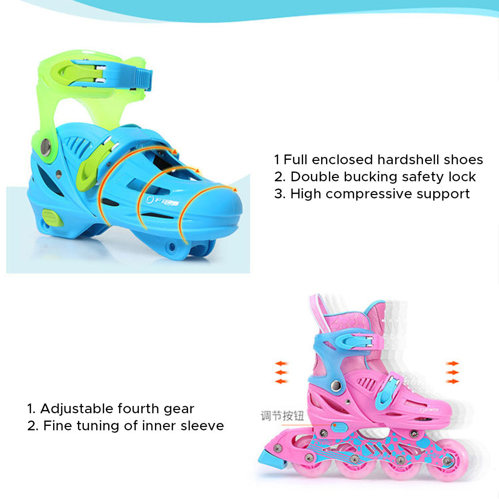 Girls And Boys Inline Skates