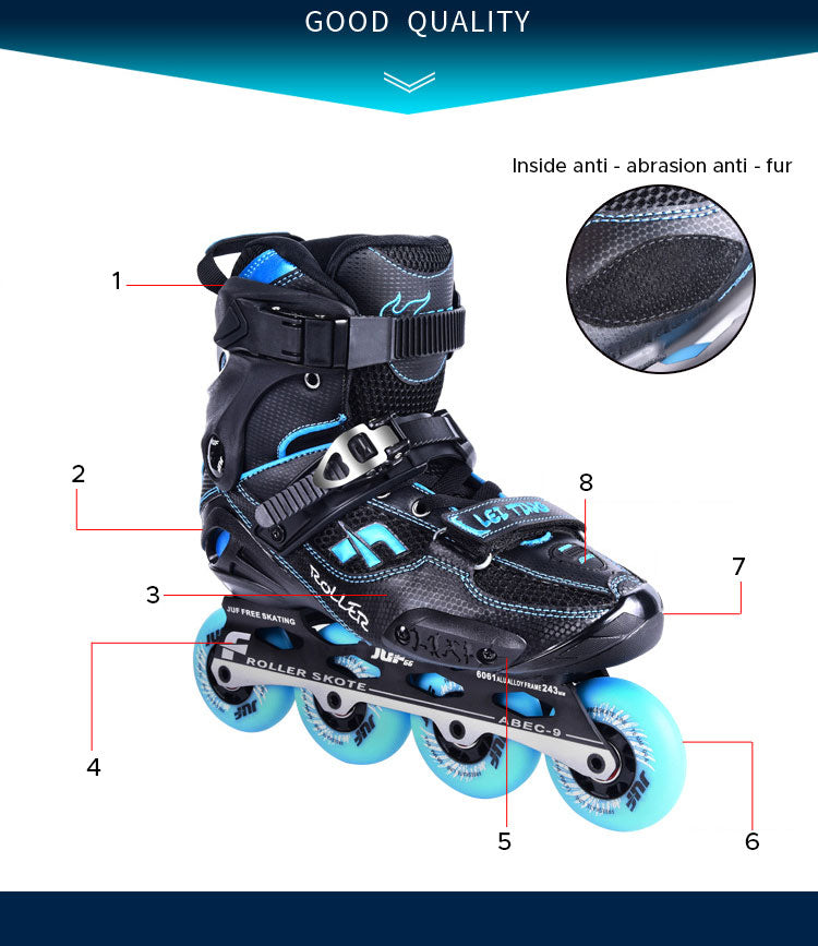 youth inline skates size 10