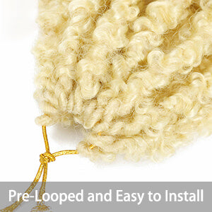 Pre Looped and Easy to Install