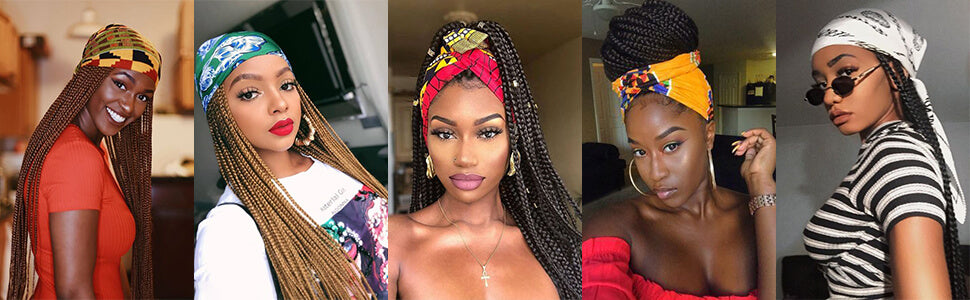 Braided Wigs for African American Women Fashion Models Show