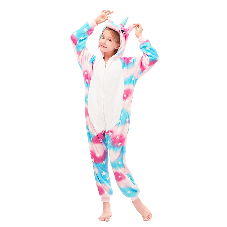 cozy unicorn onesie