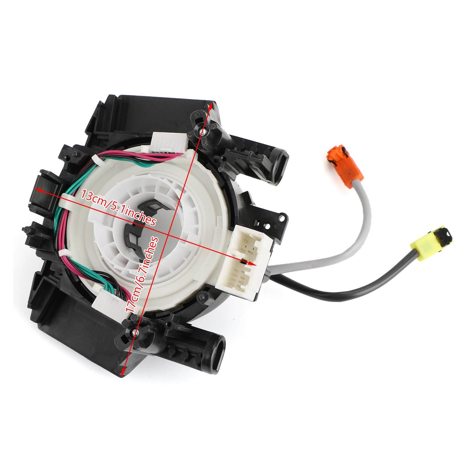 Clock Spring Airbag Spiral Cable for Nissan Versa Murano Rogue B5567-CB66A Generic