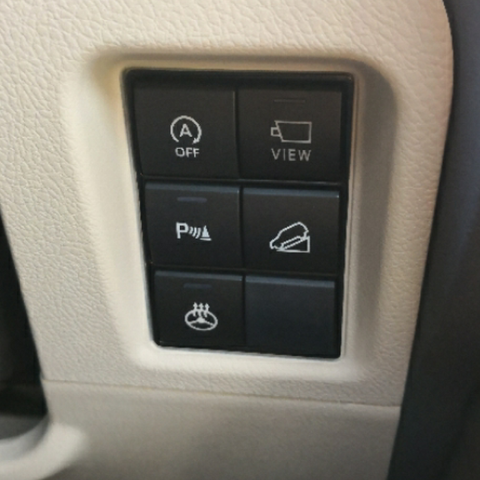 BUTTON SWITCH LED LIGHT FOR TOYOTA