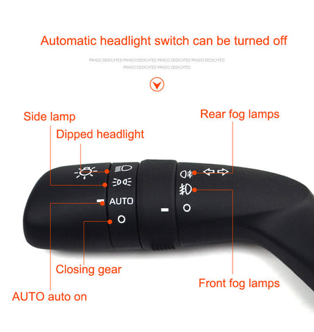 The original automatic headlight switch for Toyota