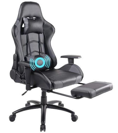 chair with footrest