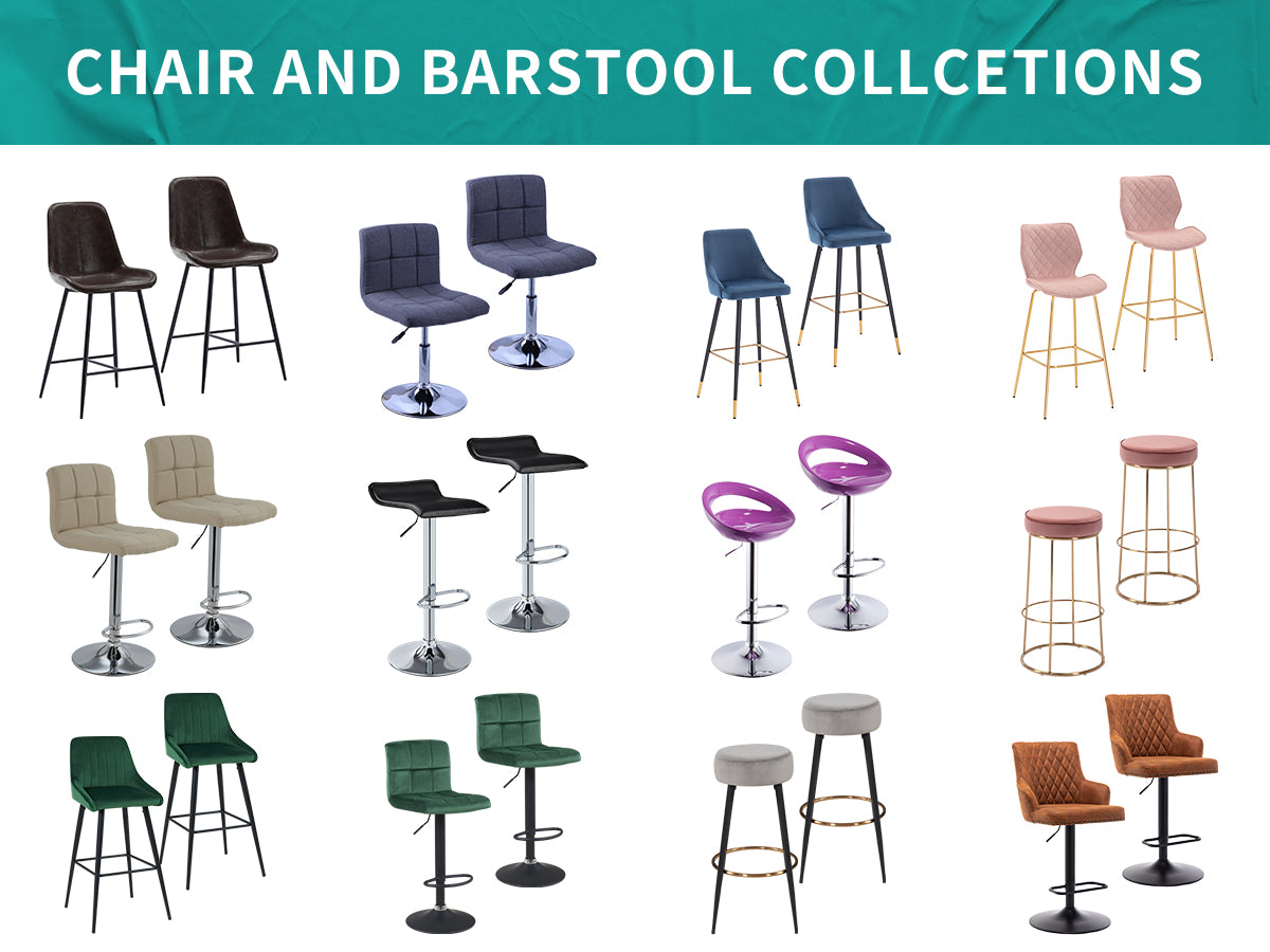 adjustable bar stools and other types for free selection