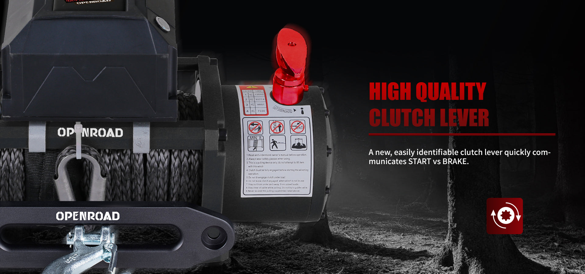 openroad-13000lb-winch-panther-series1-with-synthetic-cable