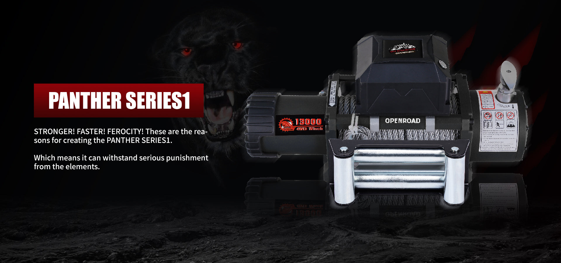 openroad-13000lb-winch-panther-series1-with-steel-cable