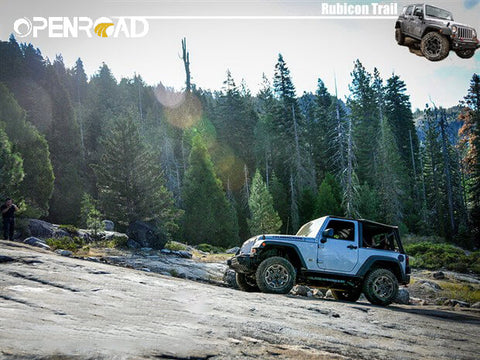 Rubicon Trail——Looks Like A Quiet Off-road Paradise