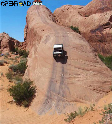 openroad4wd The Lion's Back---King of Steep Slope