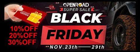 openroad 4wd black friday