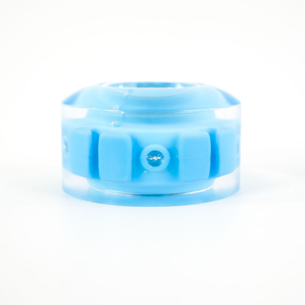 blue roller skate wheels