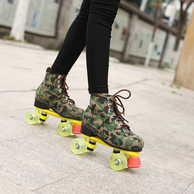 roller skates with lights quad skates for women