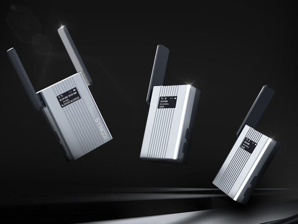 SYNCO WMic-TS 1-Trigger-2 UHF Wireless Microphone System