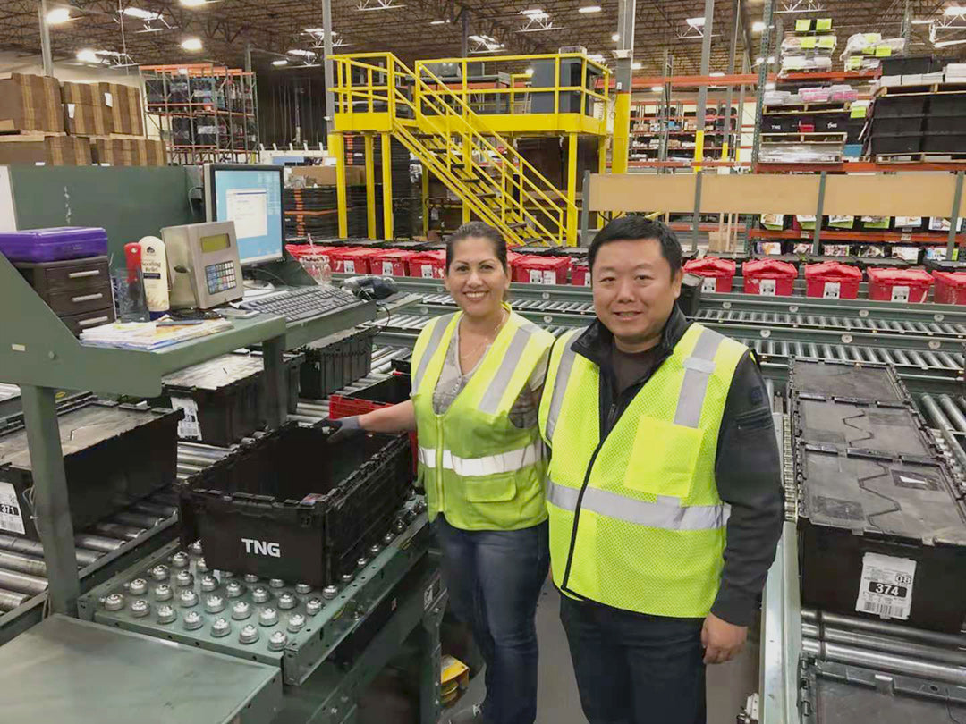 Warehouse workers in Carson CA