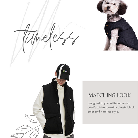 matching winter jackets for dog and owner