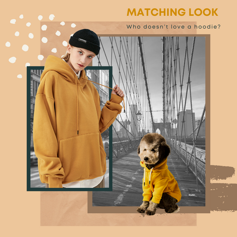 best matching hoodies for dog and owner 2020