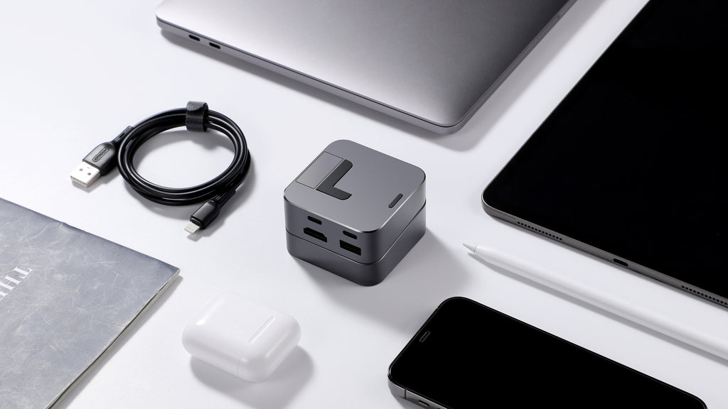 JOYROOM Announces Launch of J-Cube: Portable Ergonomic MacBook Stand & 8-in-1 USB-C Hub