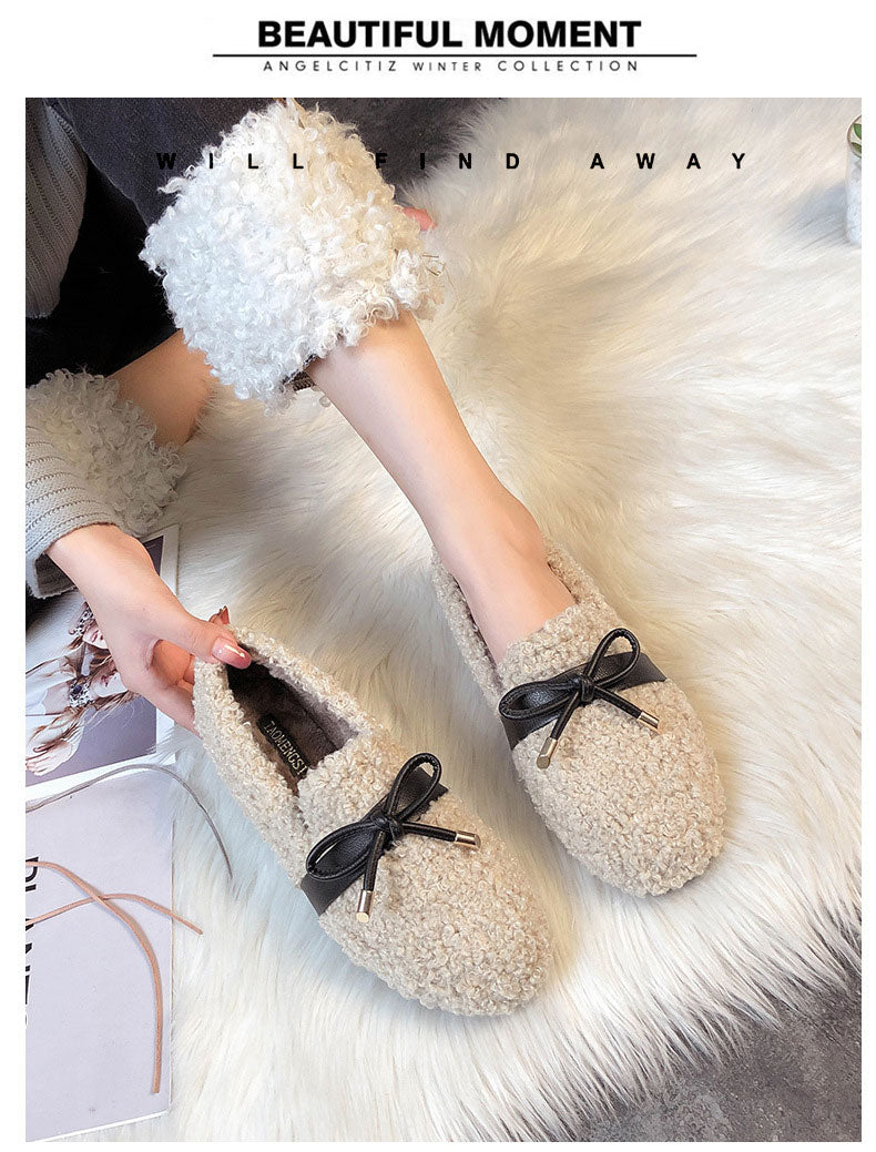 Lambswool Shoes