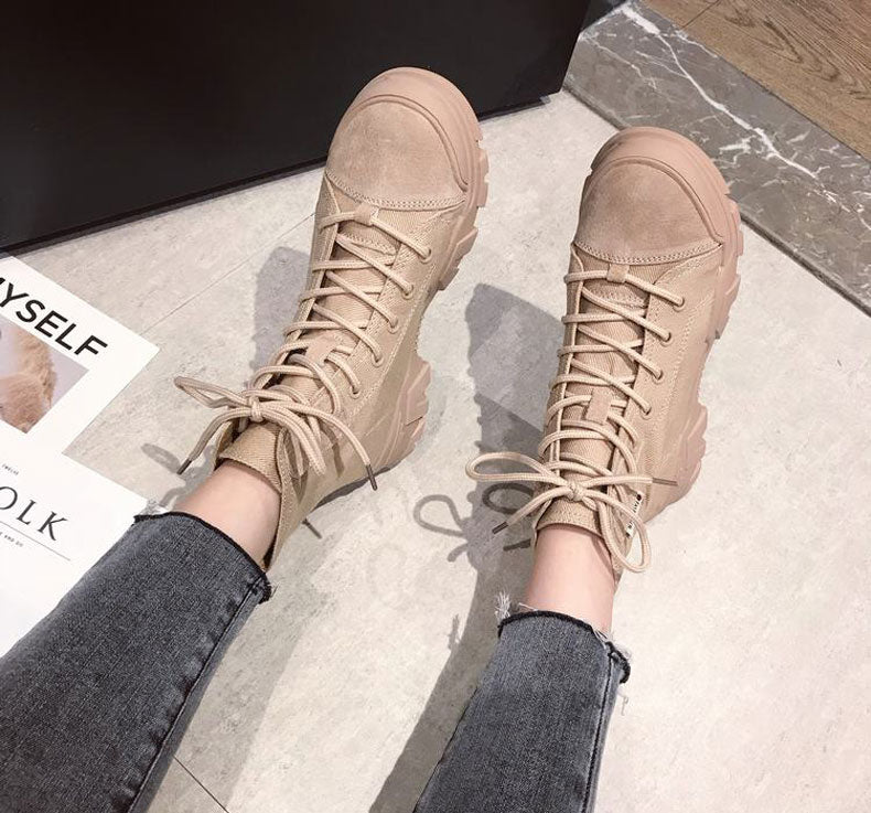 Canvas Motorcycle Shoes