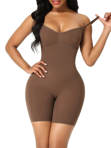 Seamless Plus Size Full Body Shaper Back Support