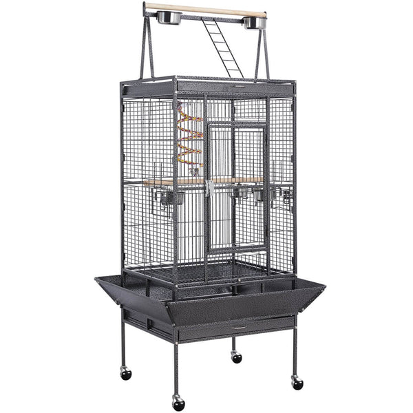 """H 68.5""""-inch Play-top Parakeet Cage"""