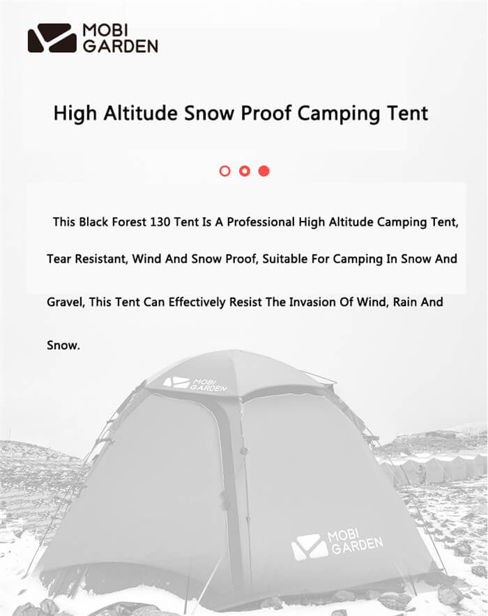 Rainproof Outdoor Camping