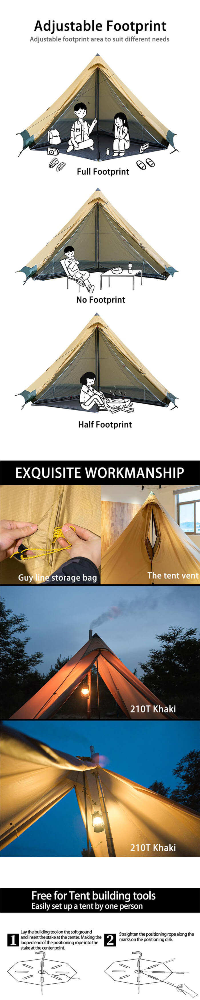 4-6 person hot tent