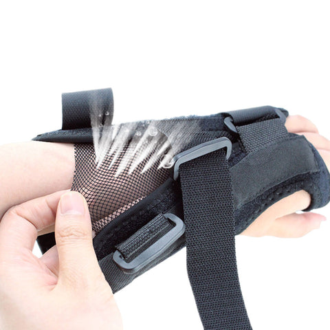 Carpal Tunnel Wrist Brace, Night Sleep Wrist Support, Removable Metal Wrist Splint for Men, Women, Tendinitis, Bowling, Sports Injuries Pain Relief