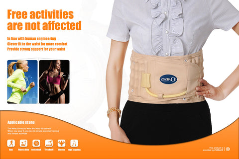 Physical Decompression Back Belt  Air Traction Belt for Lower Back Pain Relief, Back Support & Lumbar Traction belt
