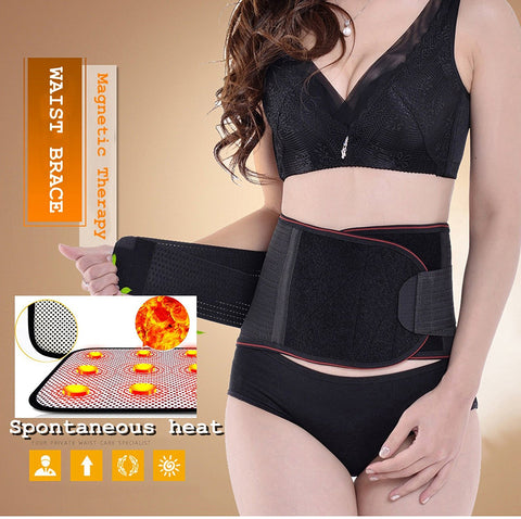 Support Belt with Dual Adjustable Straps