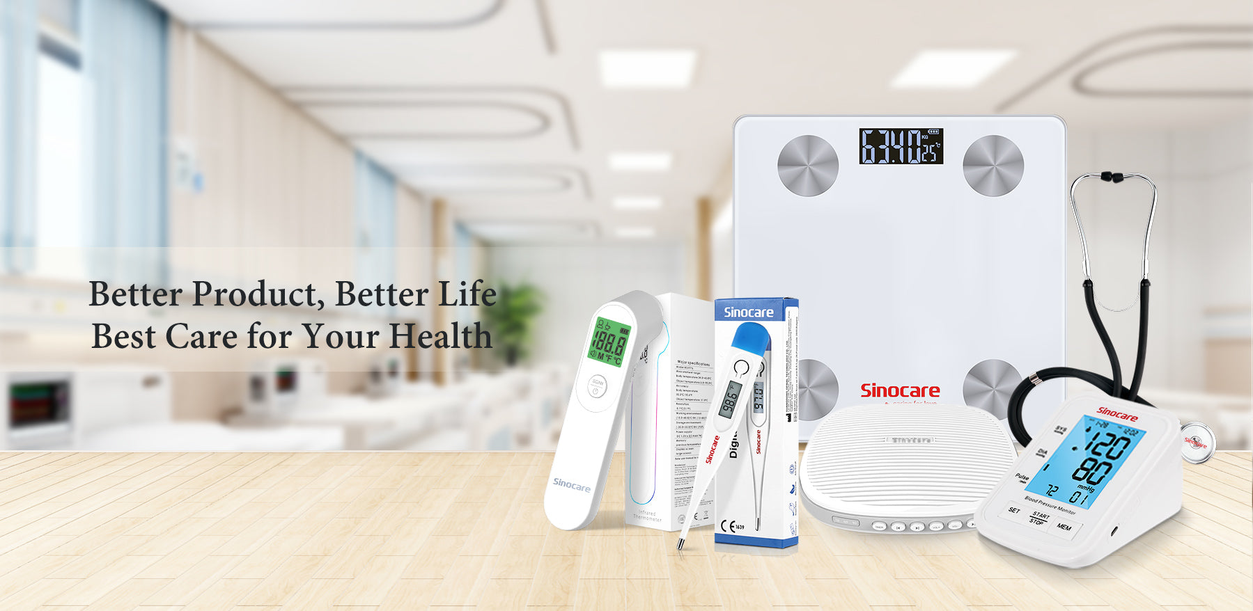 Sinocare More Wholesale Products Banner