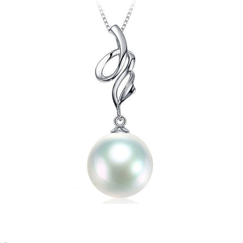 Classic-Cultured-Freshwater-White-Pearl-Pendant-Necklace