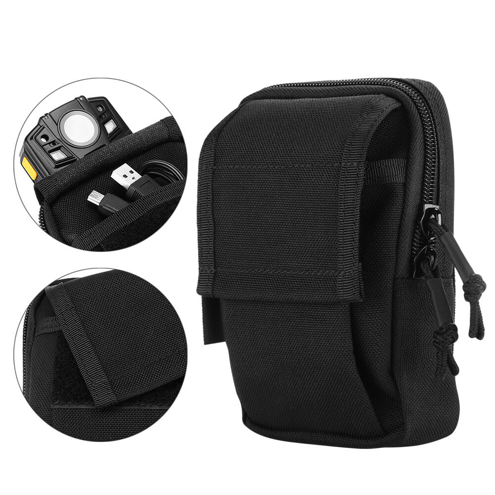 BOBLOV Body Camera Bag Carrying Case Pretection Pouch for All Brands of Body Cameras Black