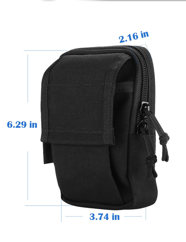 BOBLOV Body Camera Bag Carrying Case Size