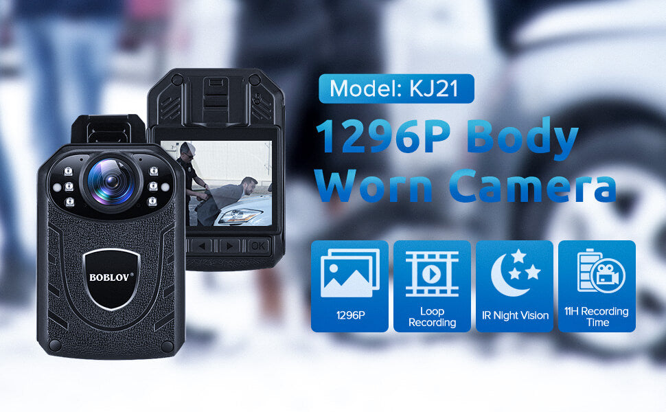 BOBLOV KJ21 Body Worn Camera.1