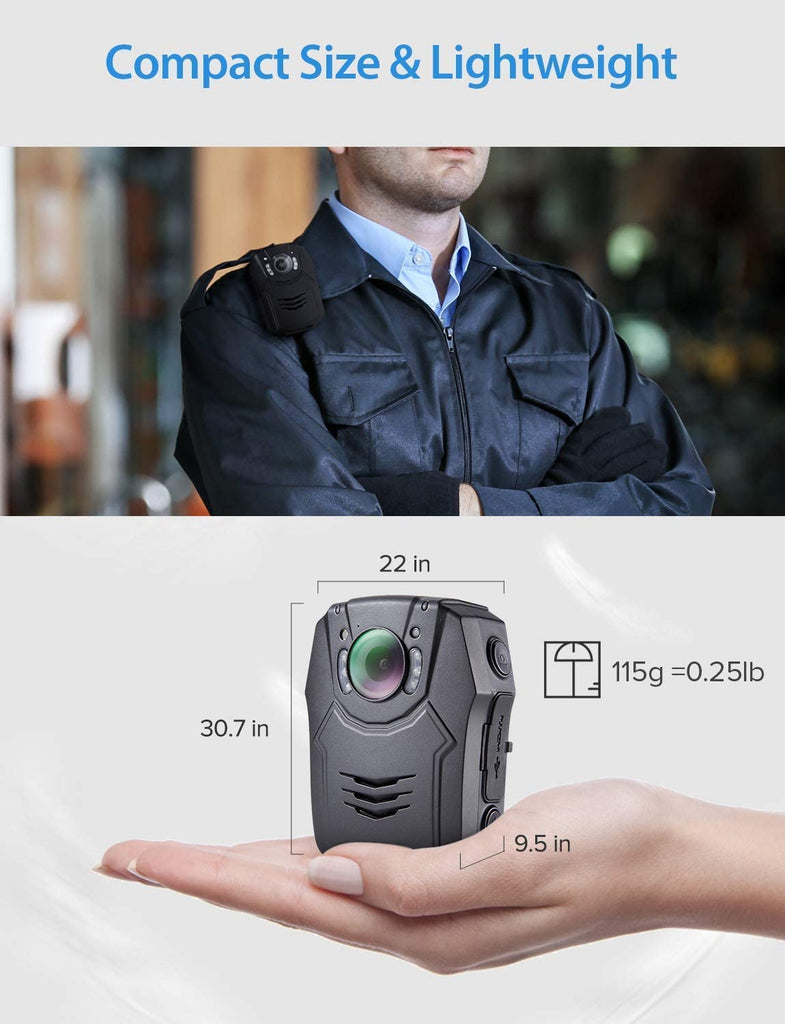 BOBLOV PD50 HD 1296P  Wearable Camera.5