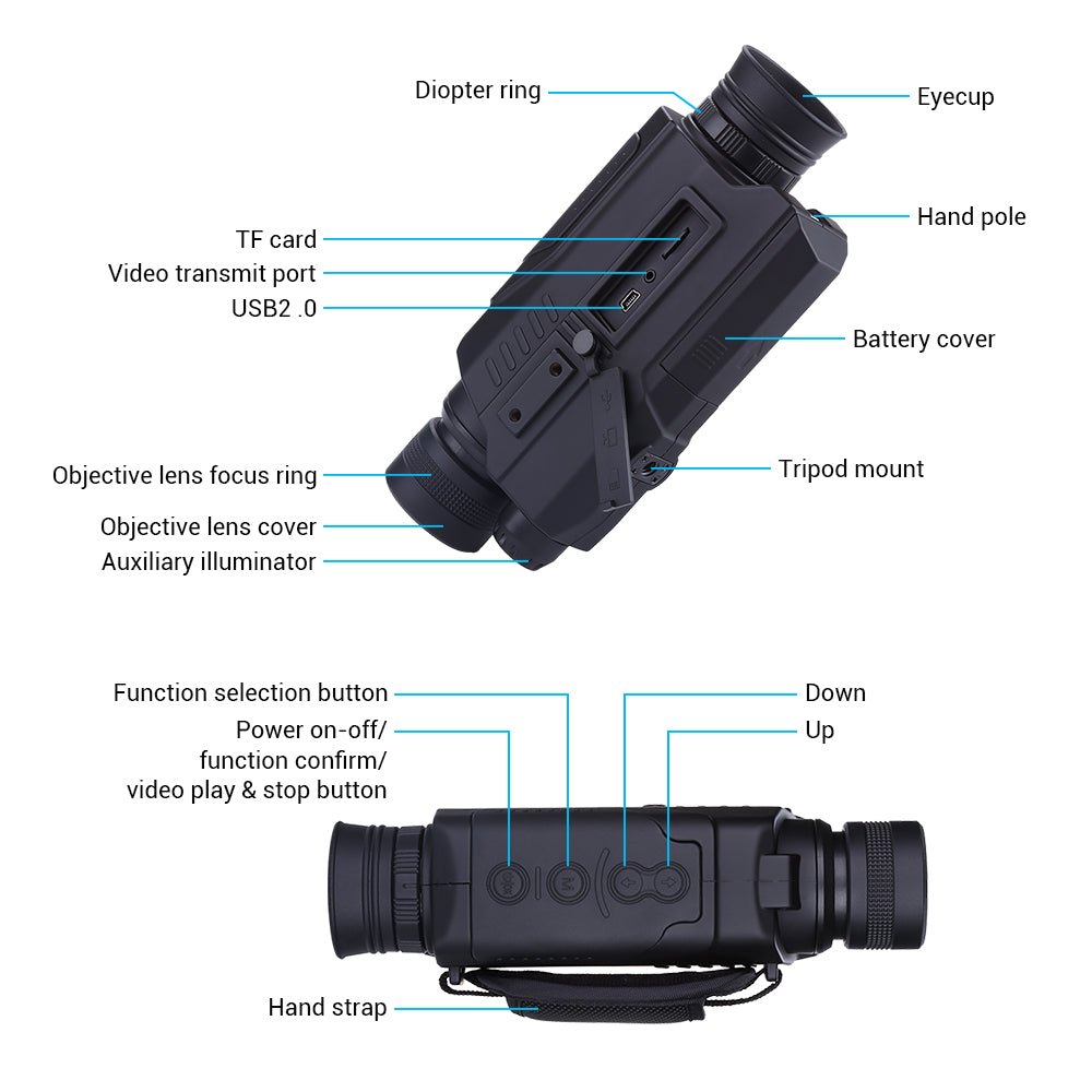 BOBLOV PJ2 Digital Night Vision Monocular .11