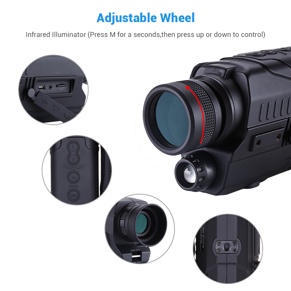 BOBLOV PJ2 Digital Night Vision Monocular .13