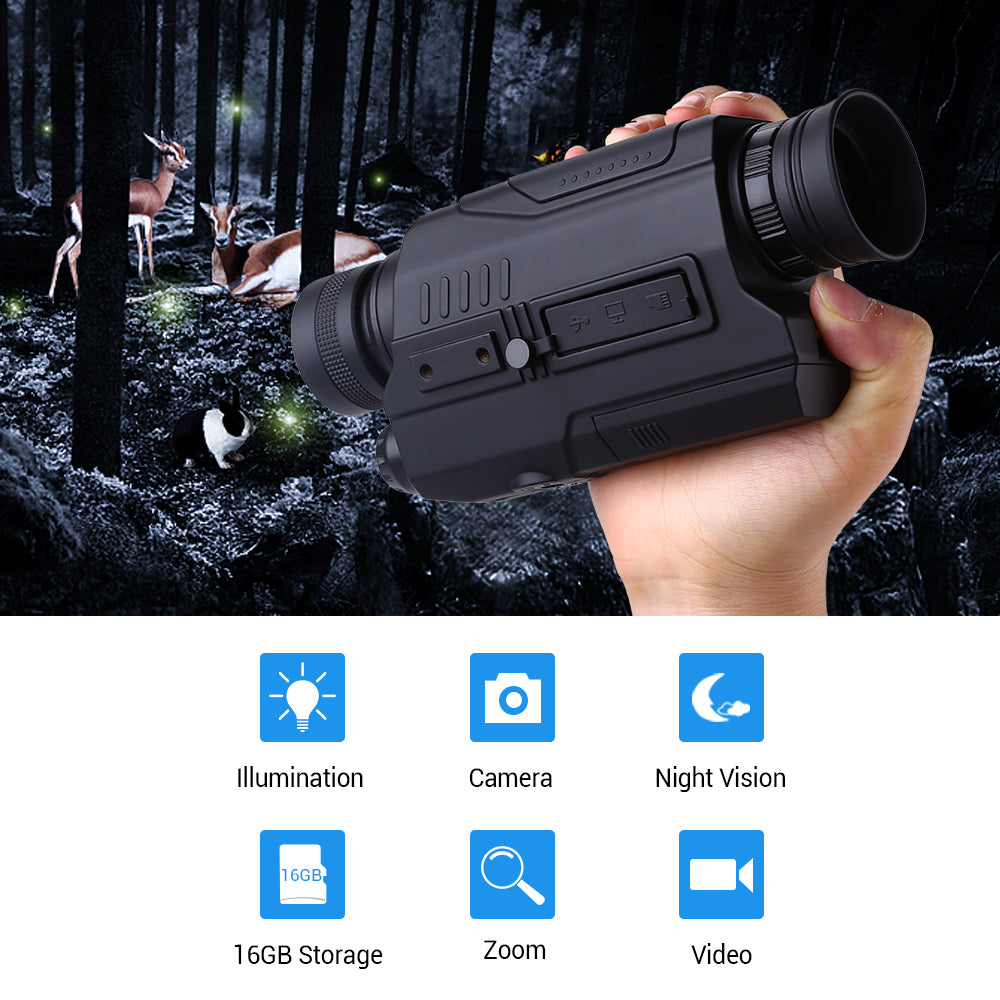 BOBLOV PJ2 Digital Night Vision Monocular .6