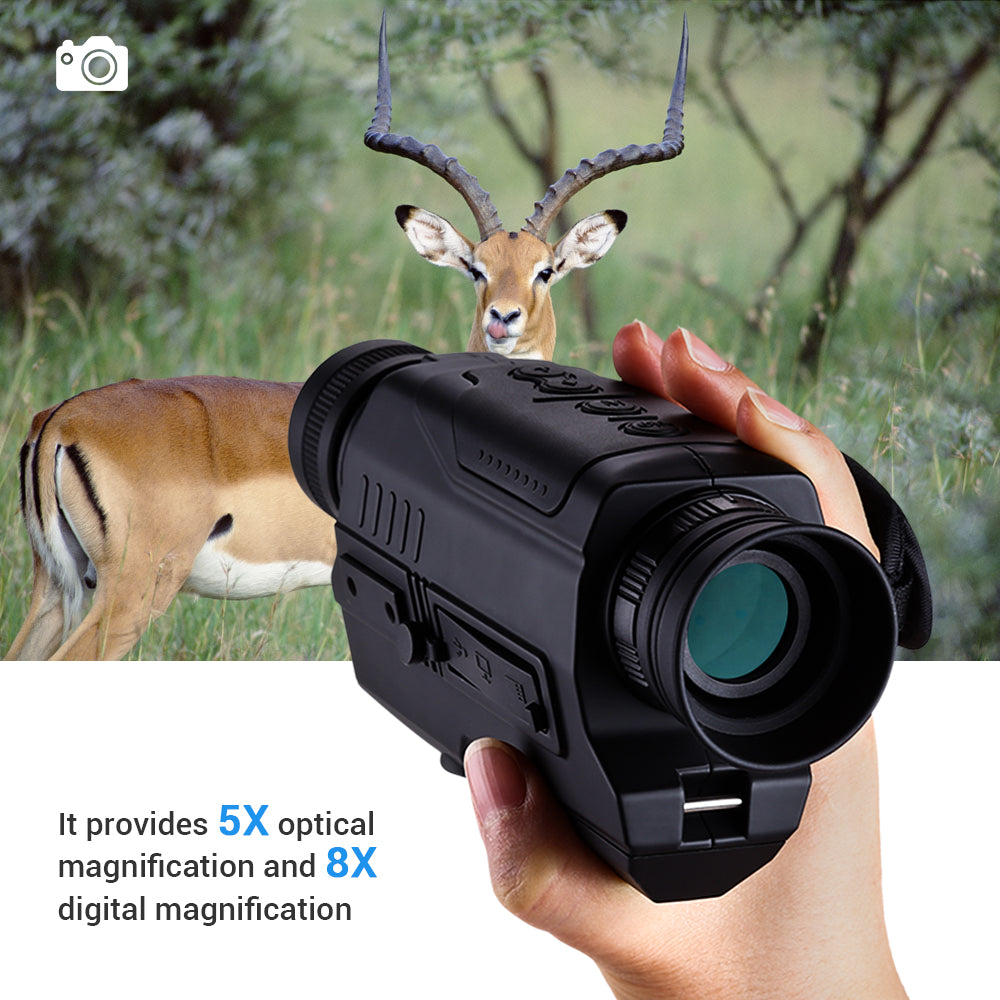 BOBLOV PJ2 Digital Night Vision Monocular .7