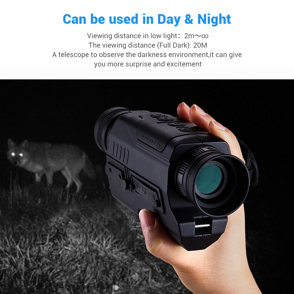 BOBLOV PJ2 Digital Night Vision Monocular .8