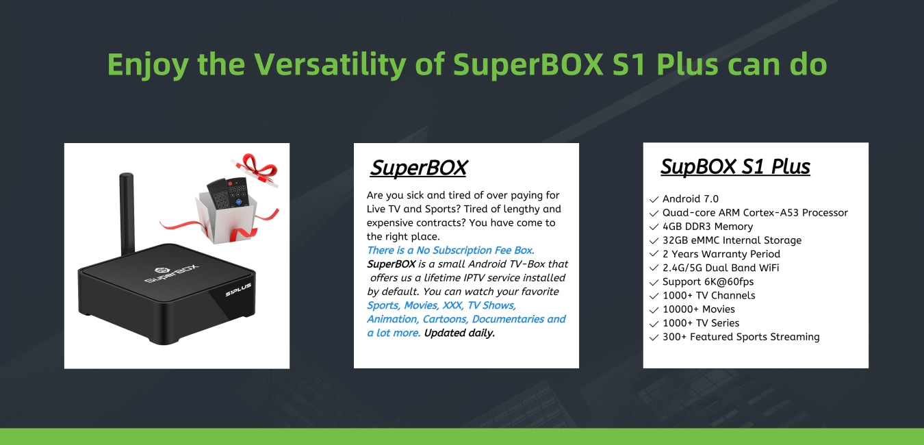 enjoy superbox s1 plus