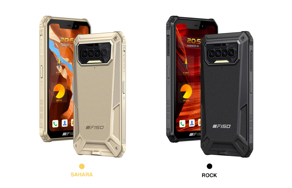 F150's B2021 rugged smartphone comes in 2 colours, sahara color and black