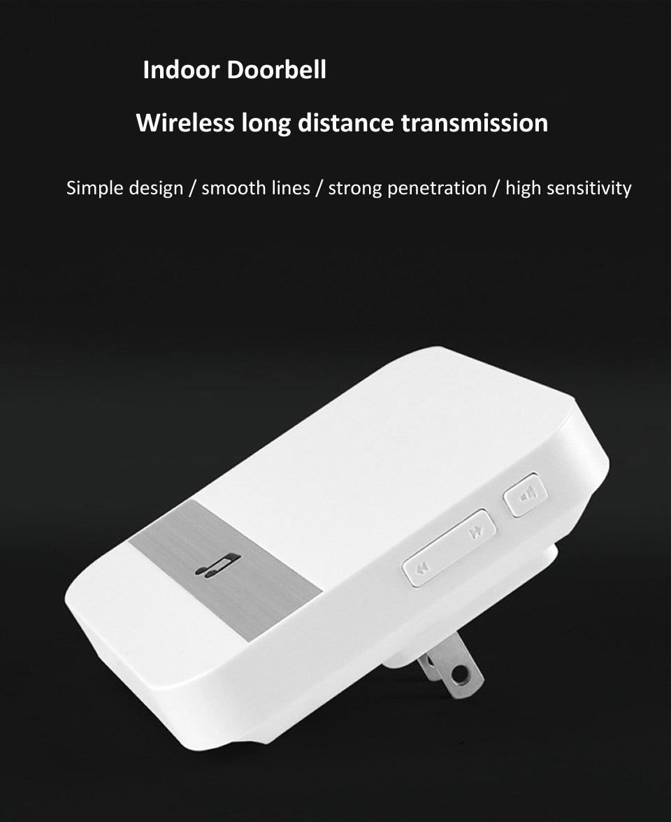 Smart Doorbell Camera Wifi Wireless Call Intercom Video-Eye for Apartments Door Bell Ring for Phone Home Security Cameras