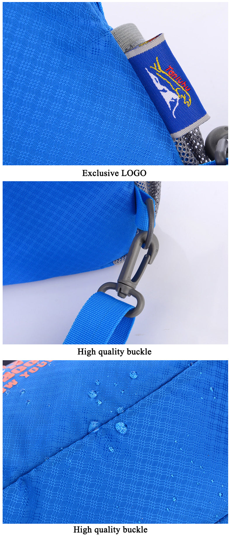New Fashion Chest Package Shoulder Sling Pack Nylon Waterproof Bag